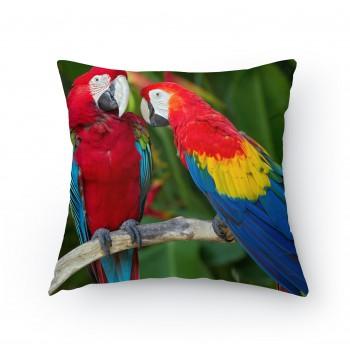 Polštářek - Papoušci