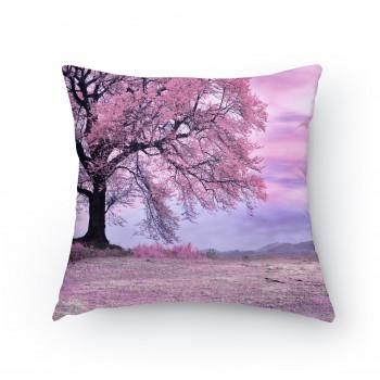 Polštářek - Růžový strom