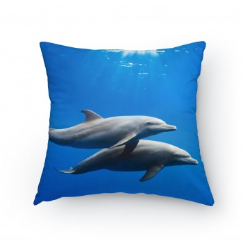 Polštářek - Delfíni