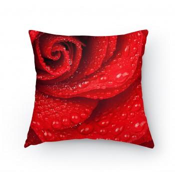 Polštářek - Detail růže