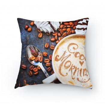 Polštářek - Dobrá ráno káva