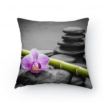 Polštářek - Růžová orchidej