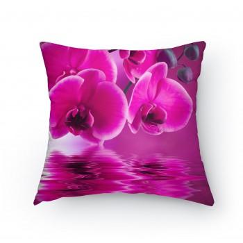 Polštářek - Orchidej detail