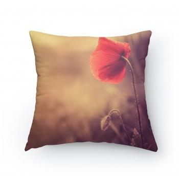 Polštářek - Květ vlčího maku