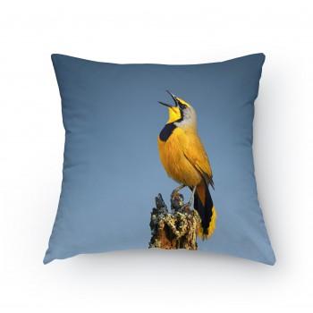 Polštářek - Zpívající ptáček