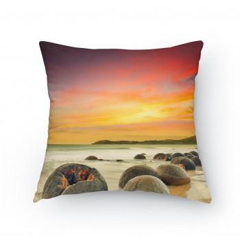Polštářek - Kameny na pláži