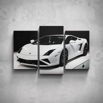 3-dílný obraz - Lamborghini