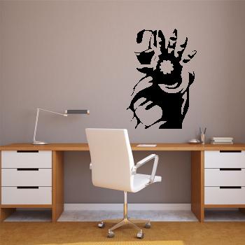 Samolepka na zeď - Iron Man