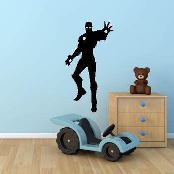 Samolepka na zeď - Létající Iron Man