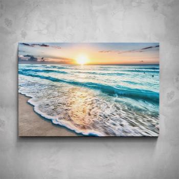 Obraz - Vlny 80x50 cm