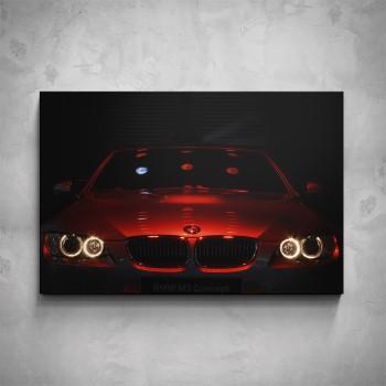 Obraz - Červené BMW