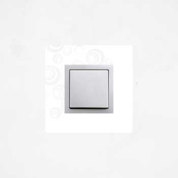 Samolepka na vypínač - Bubliny