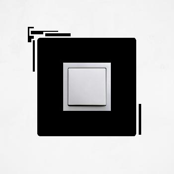 Samolepka na vypínač - Obdélníky