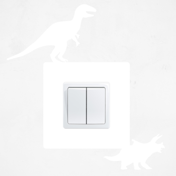 Samolepka na vypínač - Dinosauři