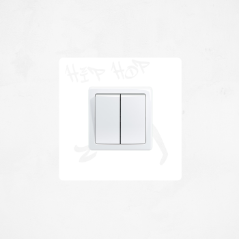 Samolepka na vypínač - Hip hop