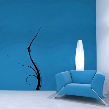 Samolepka na zeď - Floral 3