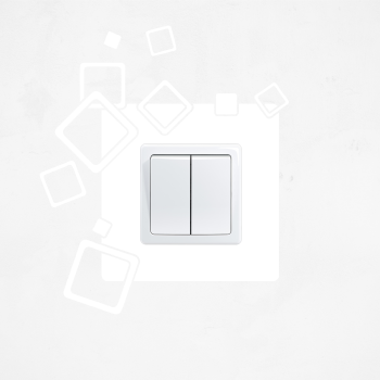 Samolepka na vypínač - Čtverce