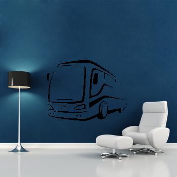 Samolepka na zeď - Autobus