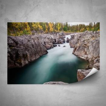Plakát - Horská řeka