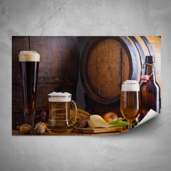Plakát - Tmavé pivo
