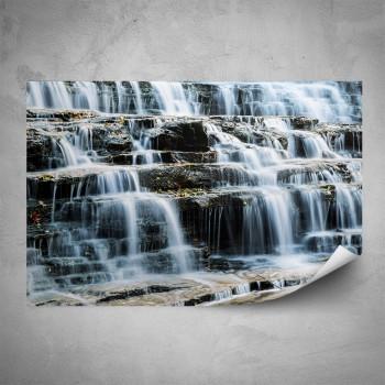 Plakát - Kamenný vodopád