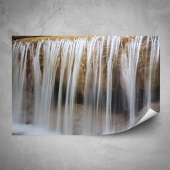 Plakát - Tekoucí vodopád