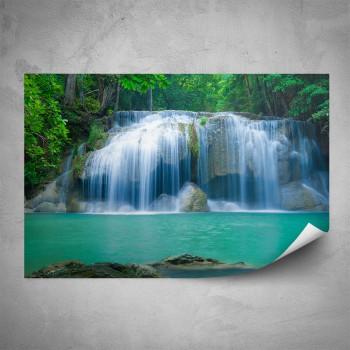 Plakát - Azurový vodopád