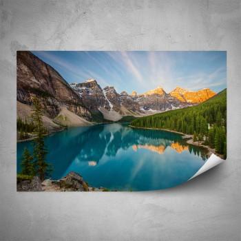 Plakát - Horské jezero