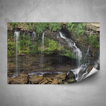 Plakát - Pralesní vodopád