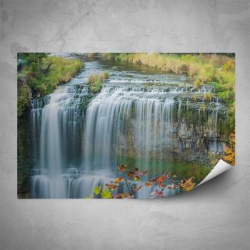 Plakát - Malý vodopád
