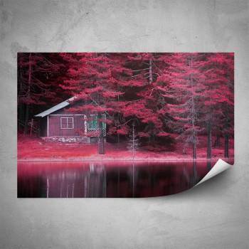 Plakát - Lesní chata