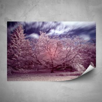 Plakát - Růžový strom