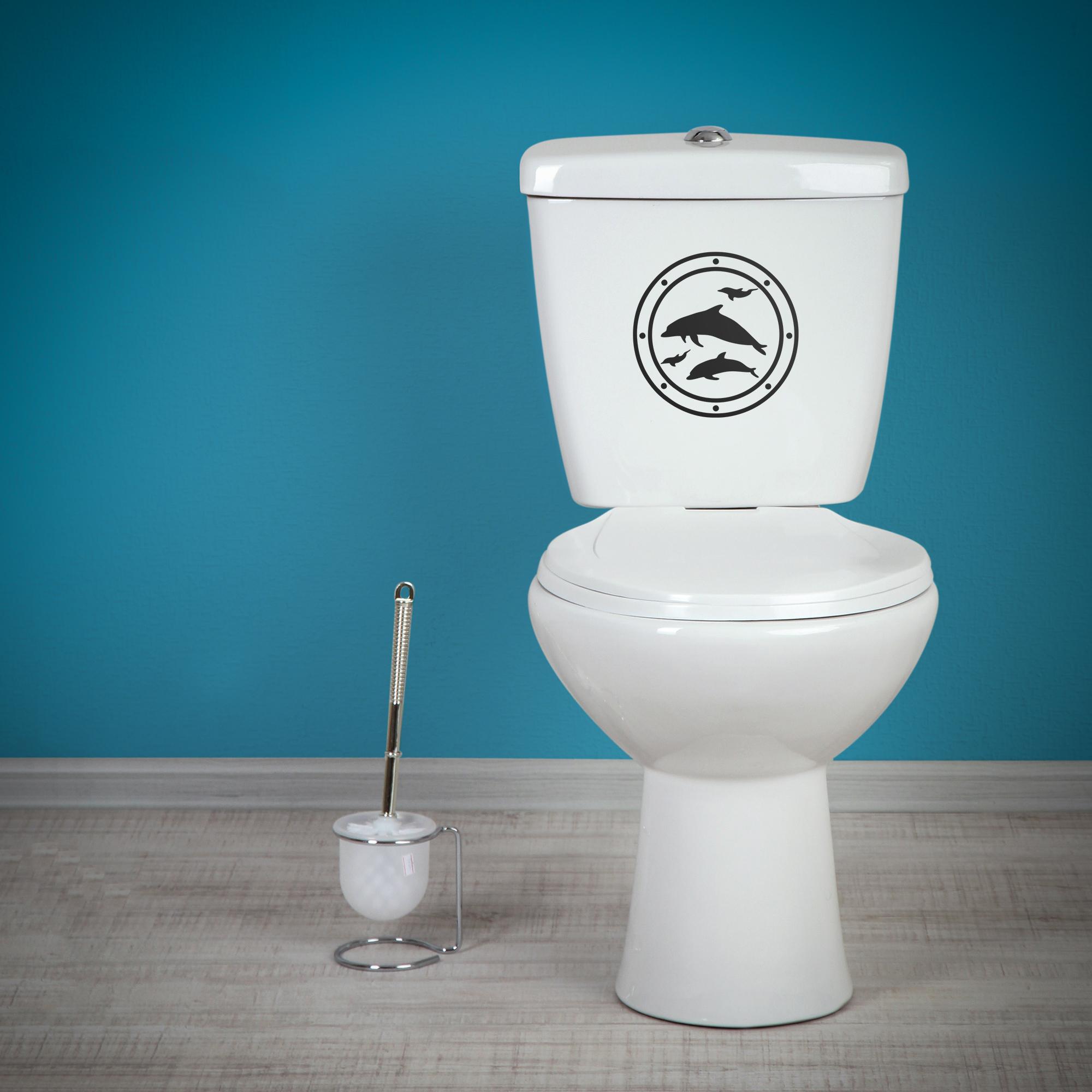 Samolepka na WC - Okno - PopyDesign
