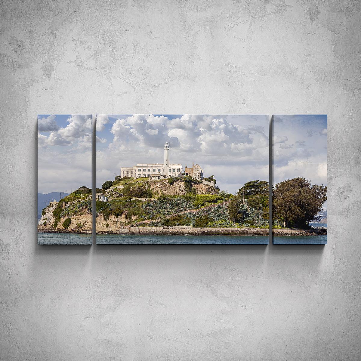 3-dílný obraz - San Francisco - PopyDesign