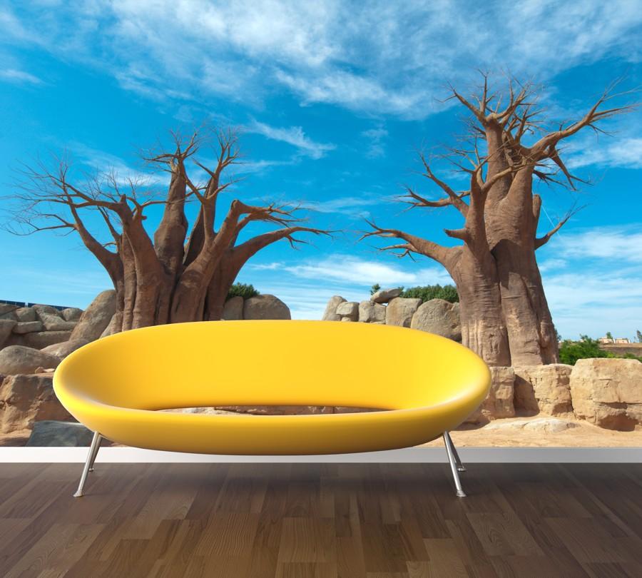 Tapeta - Staré stromy - 120x80 cm - PopyDesign