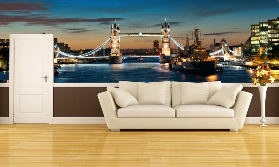 Tapeta - Tower Bridge - 120x40 cm - PopyDesign