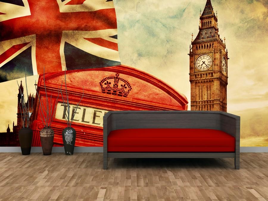 Tapeta - Big Ben - 120x80 cm - PopyDesign