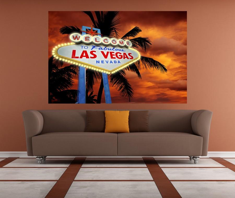 Tapeta - Las Vegas - 120x80 cm - PopyDesign