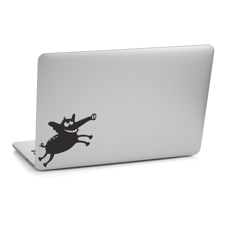 Samolepka na notebook - Slon - 24x26 cm - PopyDesign