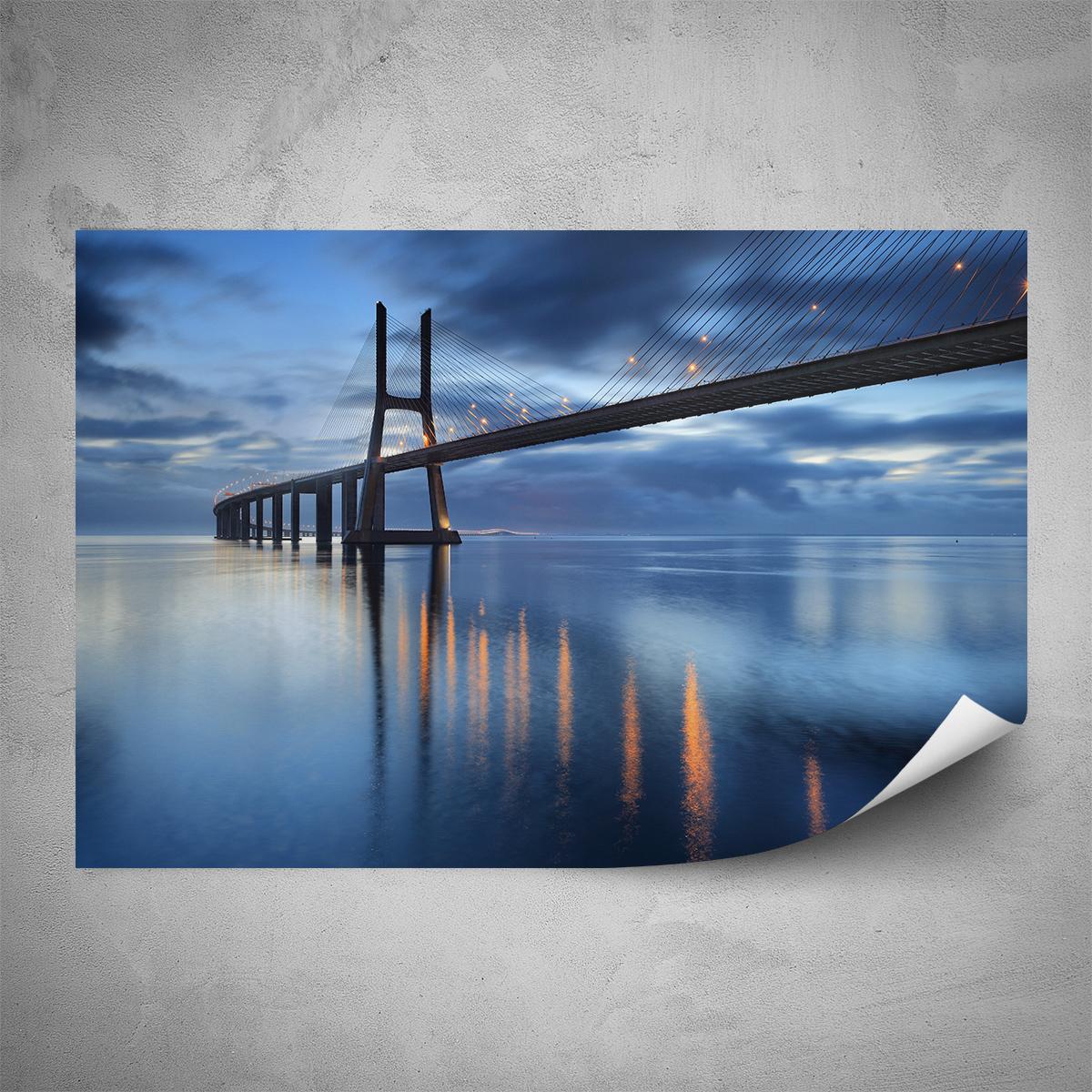 Plakát - Most Vasco da Gama - 60x40 cm - PopyDesign