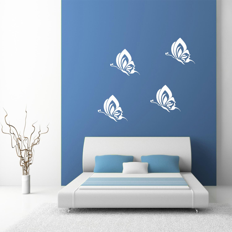 Samolepka na zeď - Motýli set - PopyDesign