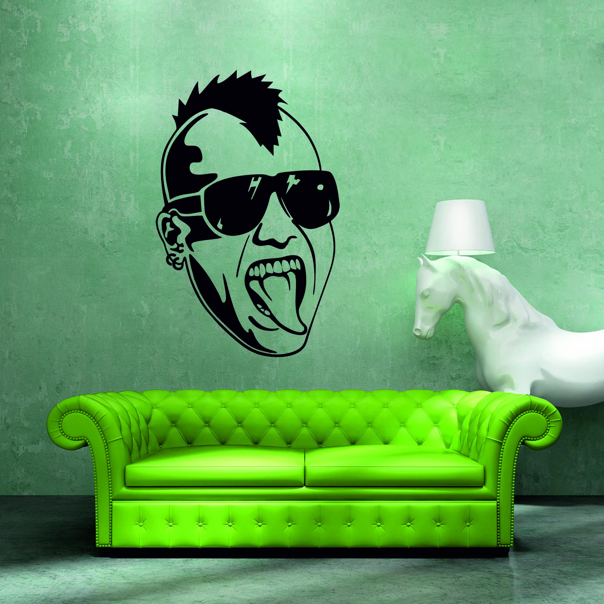 Samolepka na zeď - Punkáč - 61x95 cm - PopyDesign