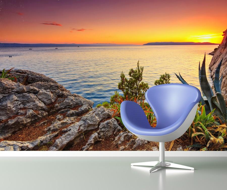 Tapeta - Pohled na moře - 120x80 cm - PopyDesign