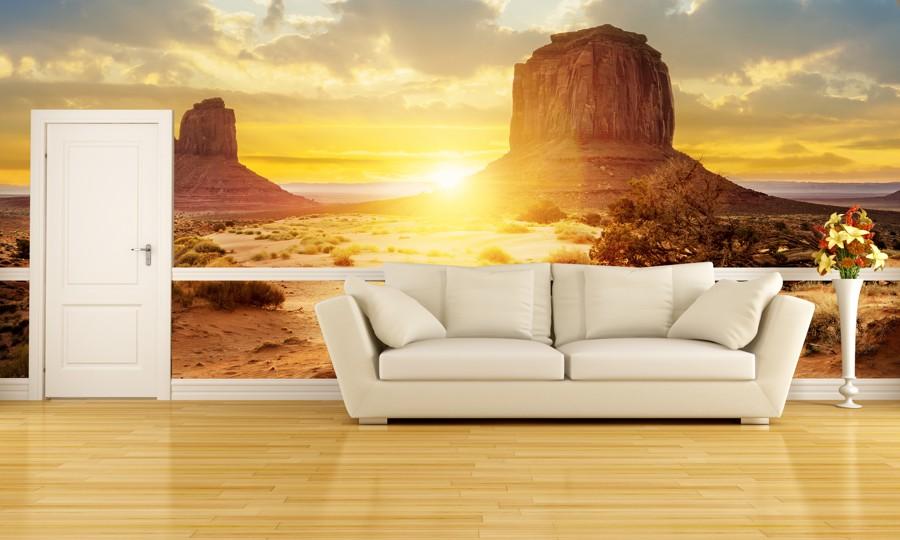 Tapeta - Grand Canyon při západu slunce - 120x80 cm - PopyDesign