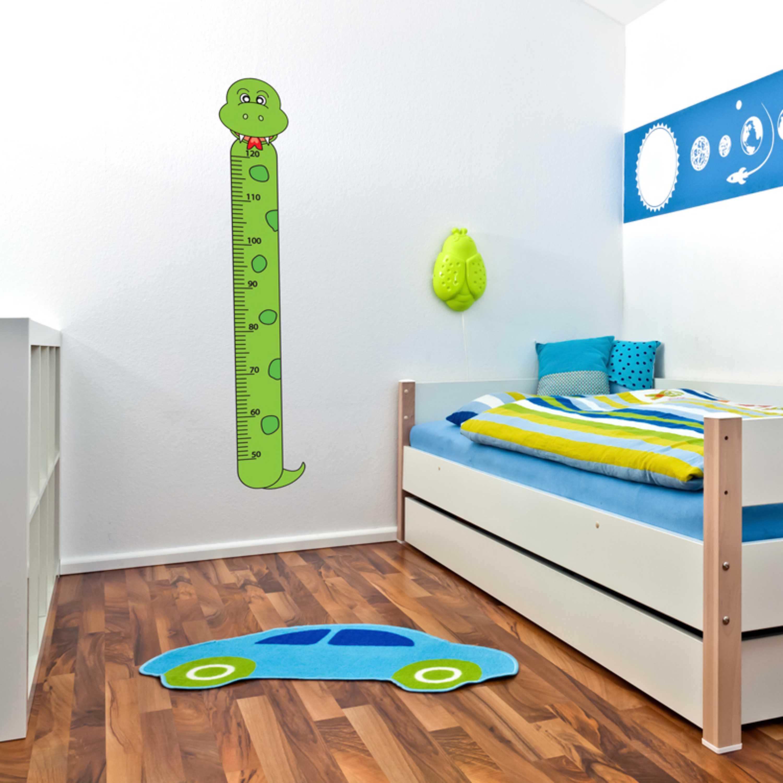 Samolepka na zeď - Dětský metr had - PopyDesign