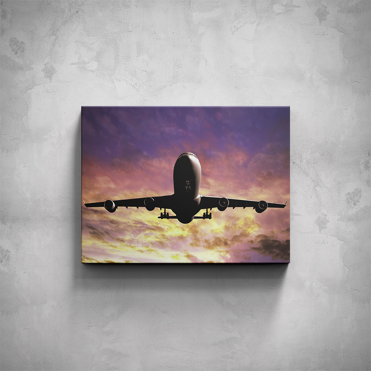 Obraz - Boeing 747 - PopyDesign