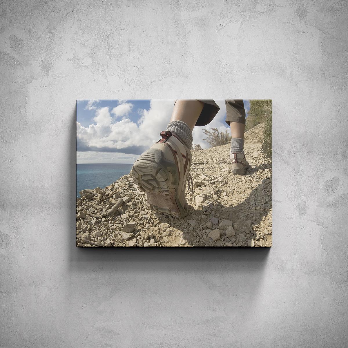Obraz - Treková obuv - PopyDesign