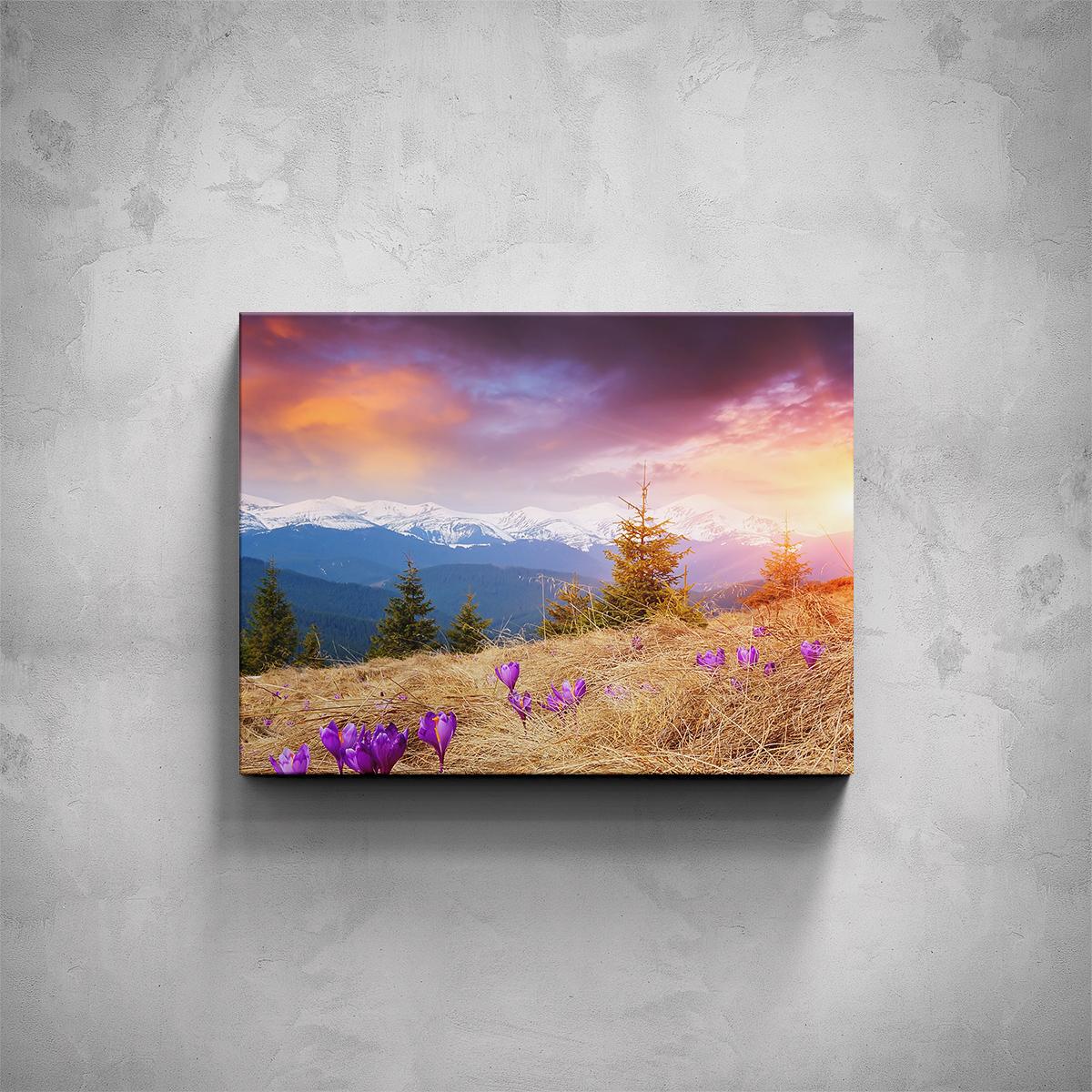 Obraz - Horská louka - PopyDesign