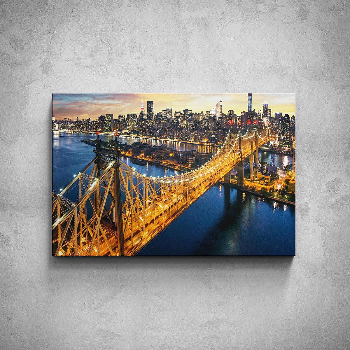 Obraz - New York most - PopyDesign