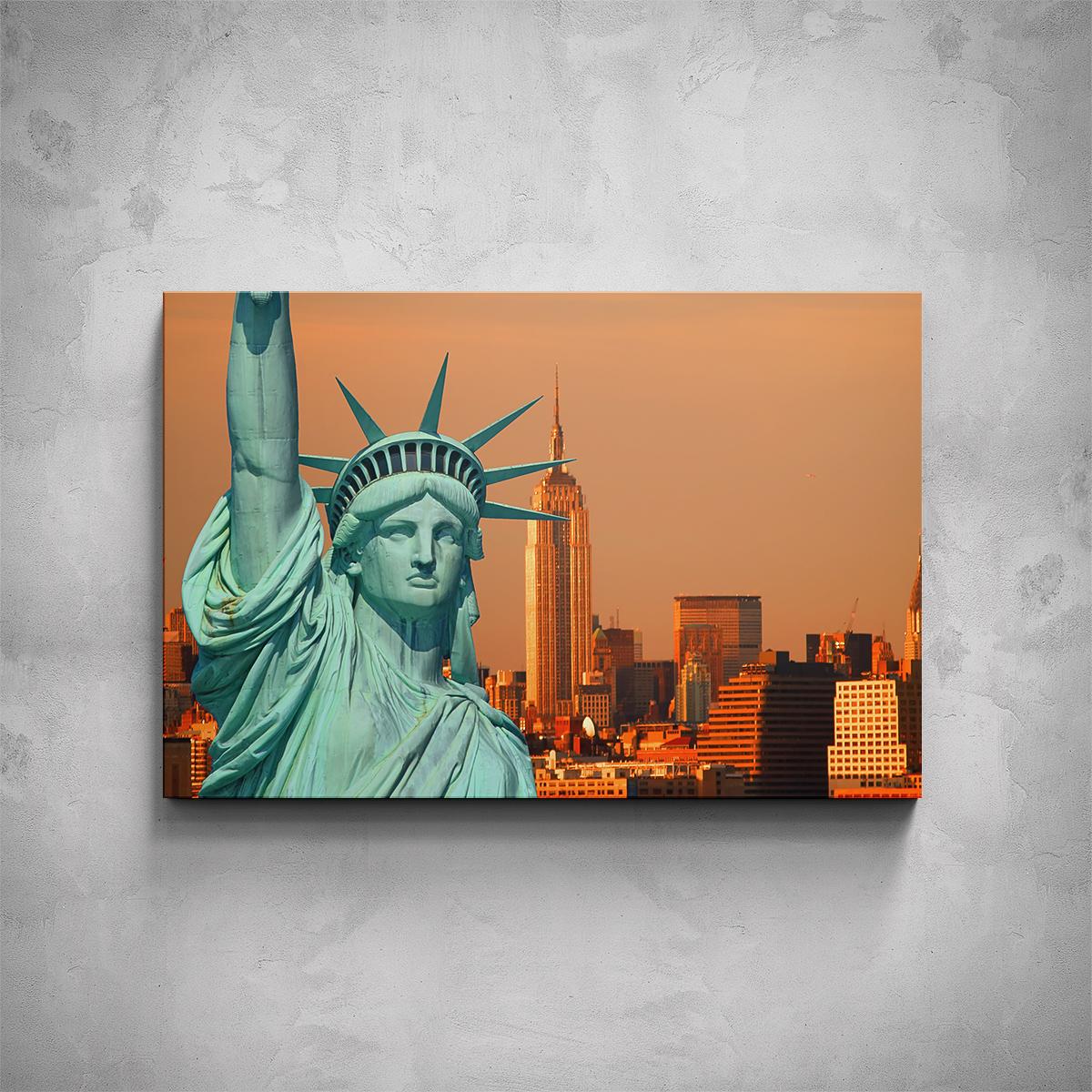 Obraz - New York Socha Svobody - PopyDesign